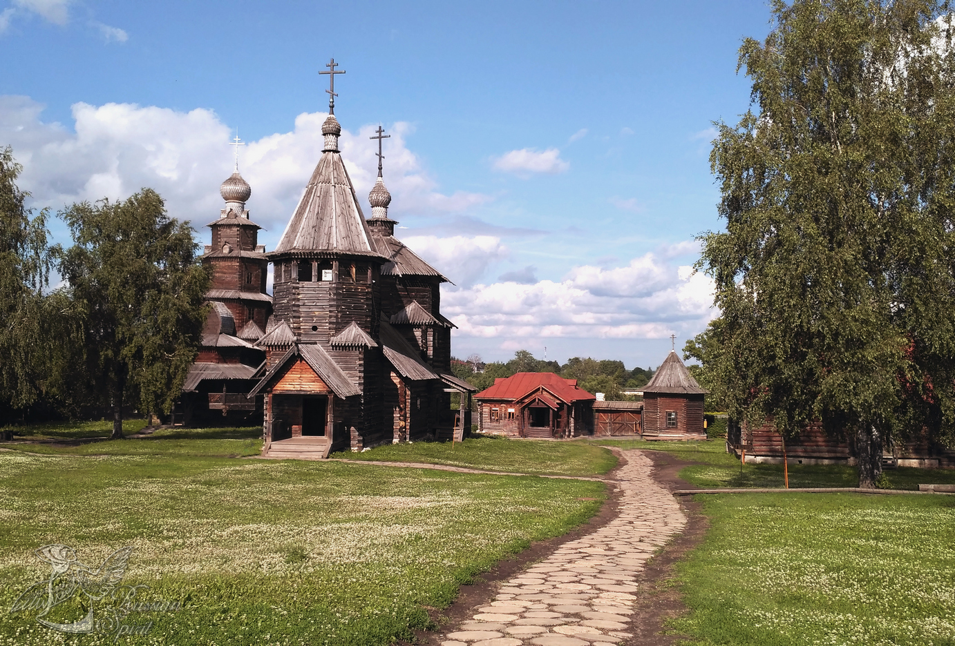 Wooden Russian Architecture museum