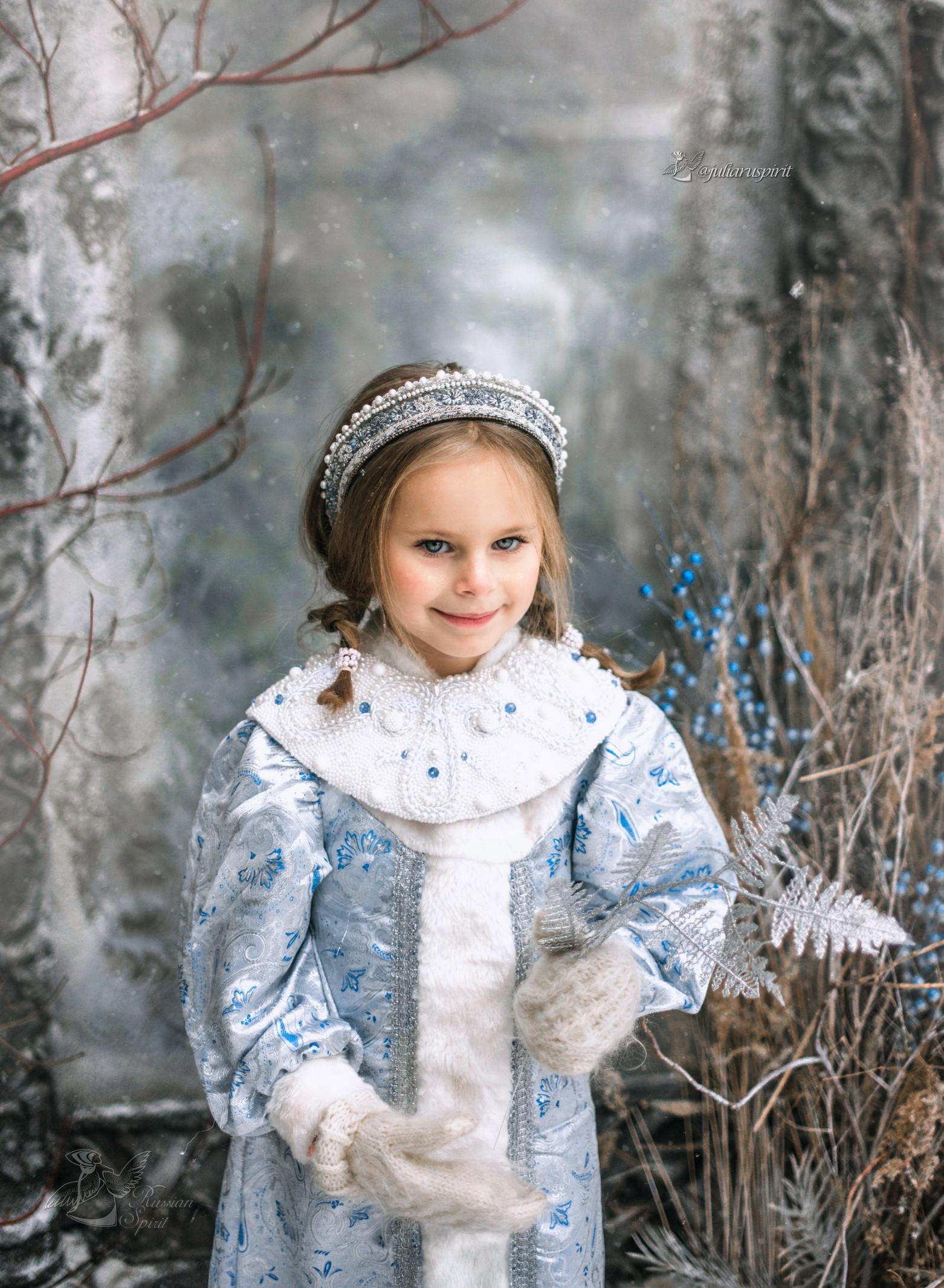 Снегурочка - фотосессия в сказочных костюмах