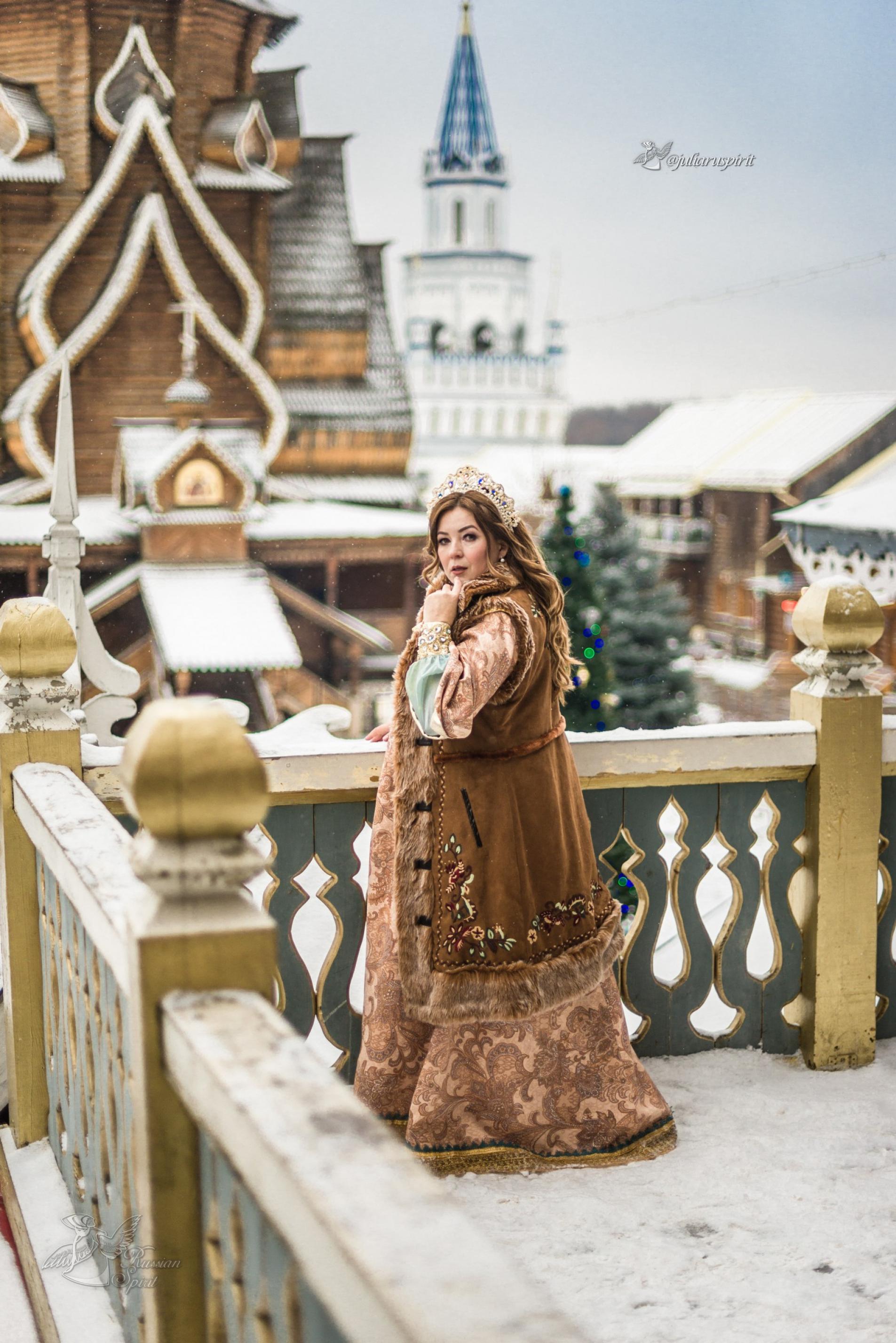 Фотосессия к костюме царевны в измайловском кремле