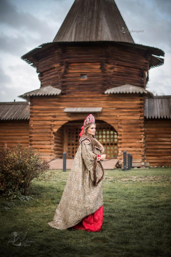 Шуба боярская для фотосессий
