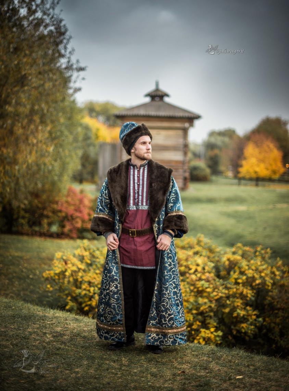 Рубаха для фотосессий в русском стиле