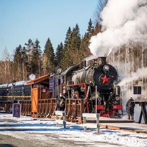 to Karelia on a retro train