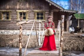 Russian village Nestertsevo